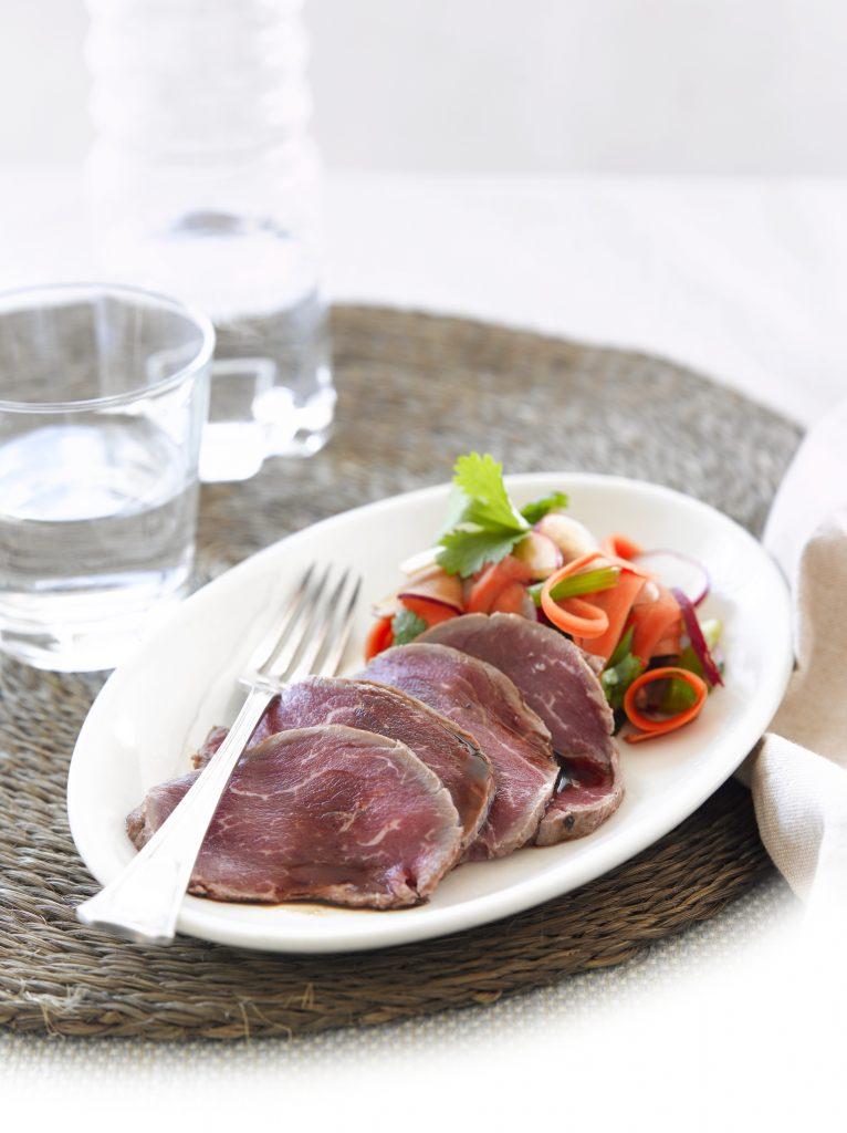 Beef carpaccio, Japanese-style