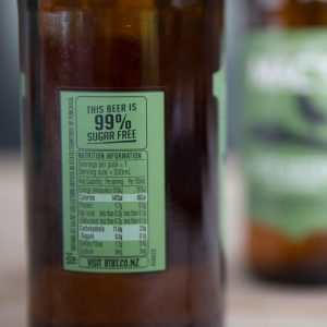 Nutrition labels for Kiwi beer