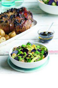 Beetroot, avocado and pumpkin seed quinoa salad   Healthy ...