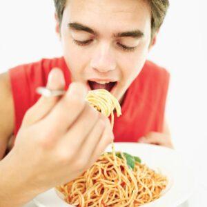 Boy… can he eat!