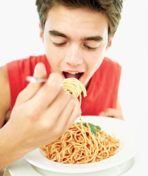 Boy... can he eat!