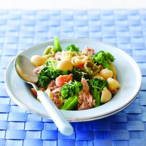 Broccoli and tuna pasta