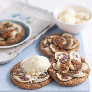 Brown sugar banana galette