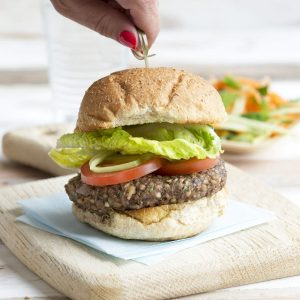 Buckwheat and mushroom burgers