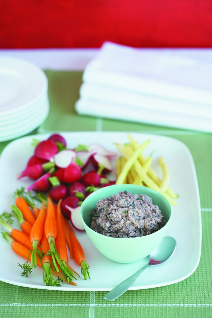 Cannellini bean and olive dip