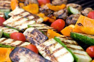 Chargrilled vegetables