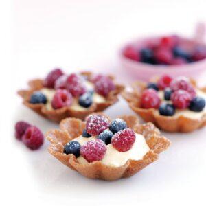Cheesecake baskets