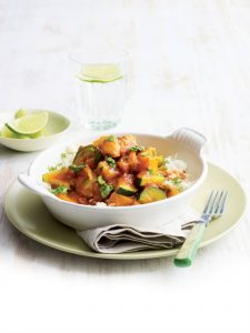 Chicken and butternut curry