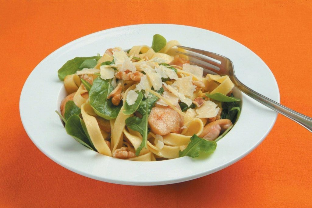 Chicken And Walnut Tagliatelle Healthy Food Guide
