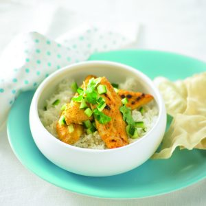 Chicken korma tenderloins