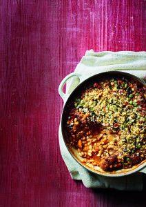 Chicken, pork and bean cassoulet
