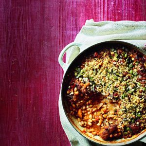 Chicken, pork and bean cassoulet