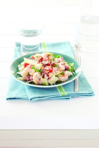 Chicken, prawn and chorizo risotto