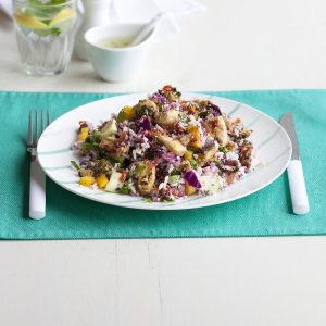 Chicken rice salad