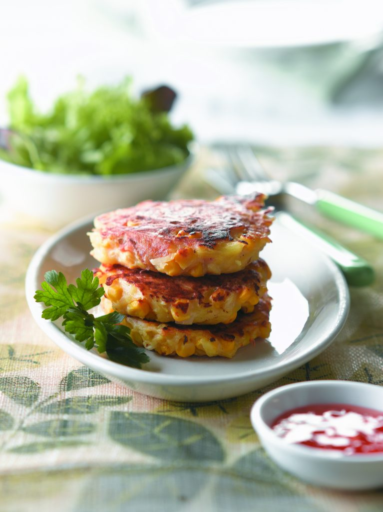 Chilli Chicken And Corn Rosti Healthy Food Guide