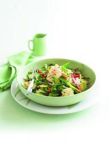 Chilli lime squid salad