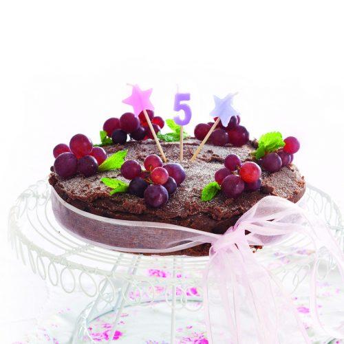 Chocolate banana birthday cake