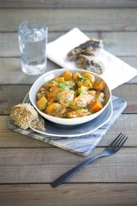 Chunky chicken, bean and vege pot