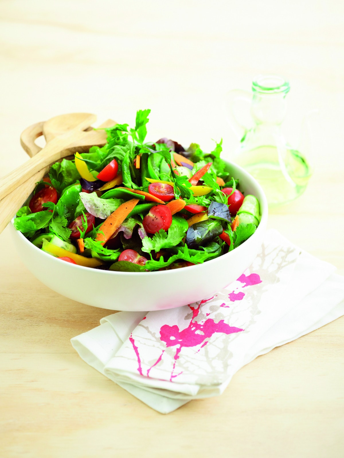 Classic Mixed Green Salad Healthy Food Guide