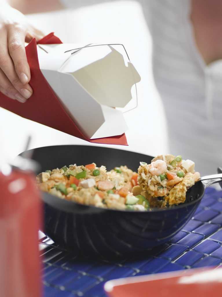 Combination stir-fried rice