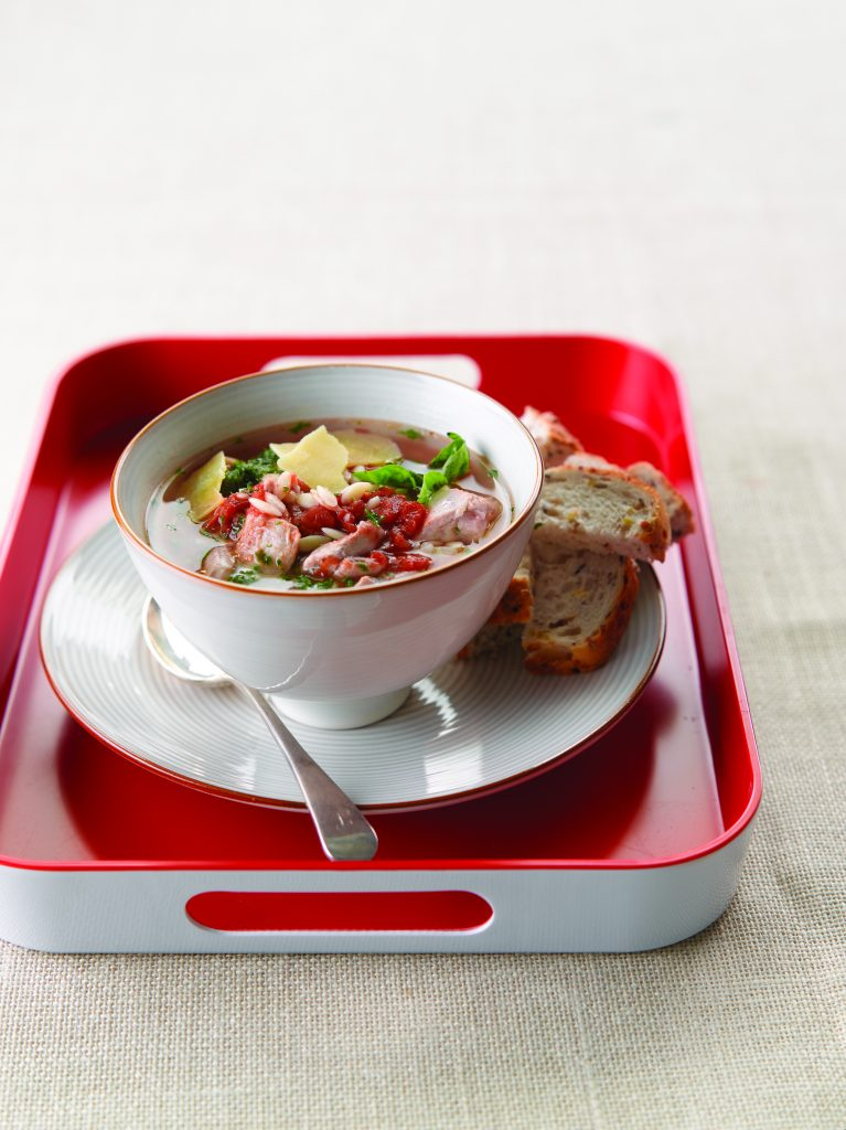 Country chicken soup