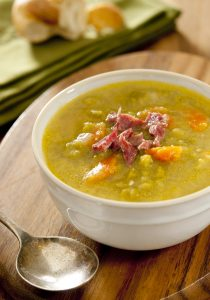 Crockpot pea and ham soup