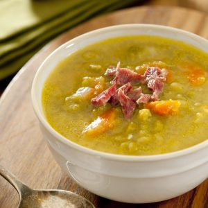 Crockpot pea and ham soup