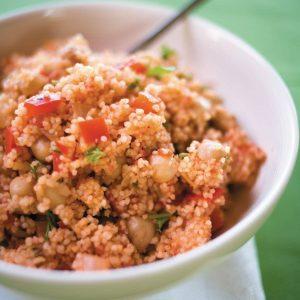 Crunchy couscous salad