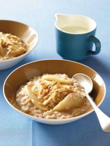 Divine apple and spice porridge