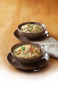 Easy chicken risotto