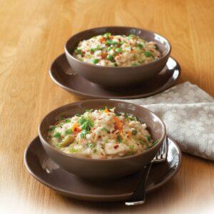 Easy chicken risotto