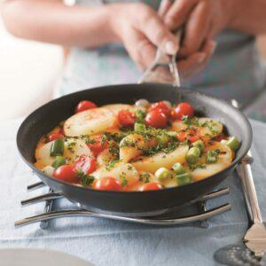 Easy tomato tortilla