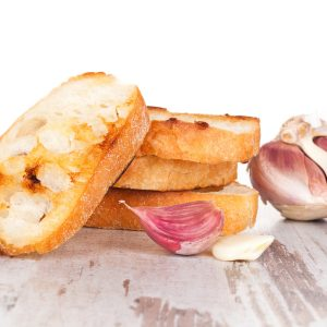 Extreme makeover: Garlic bread