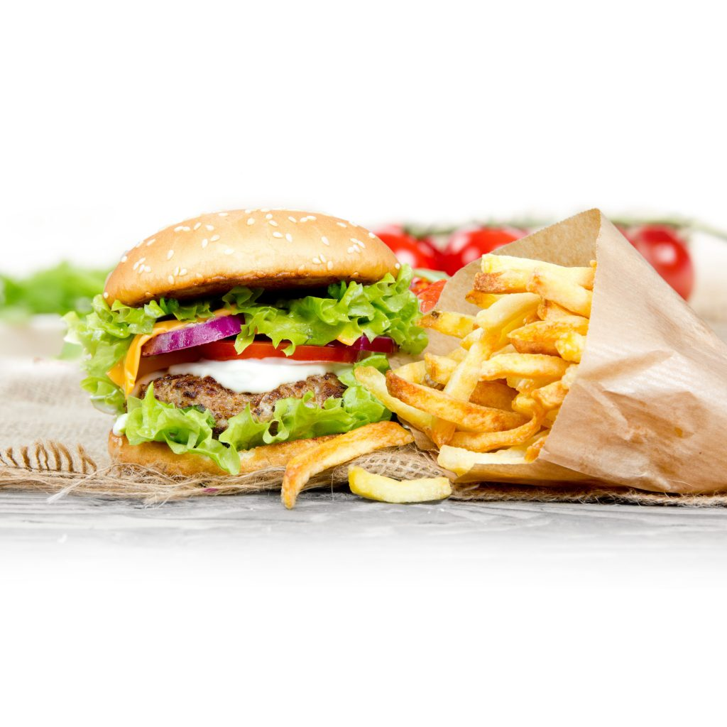 Fast Food Burgers Healthy Food Guide