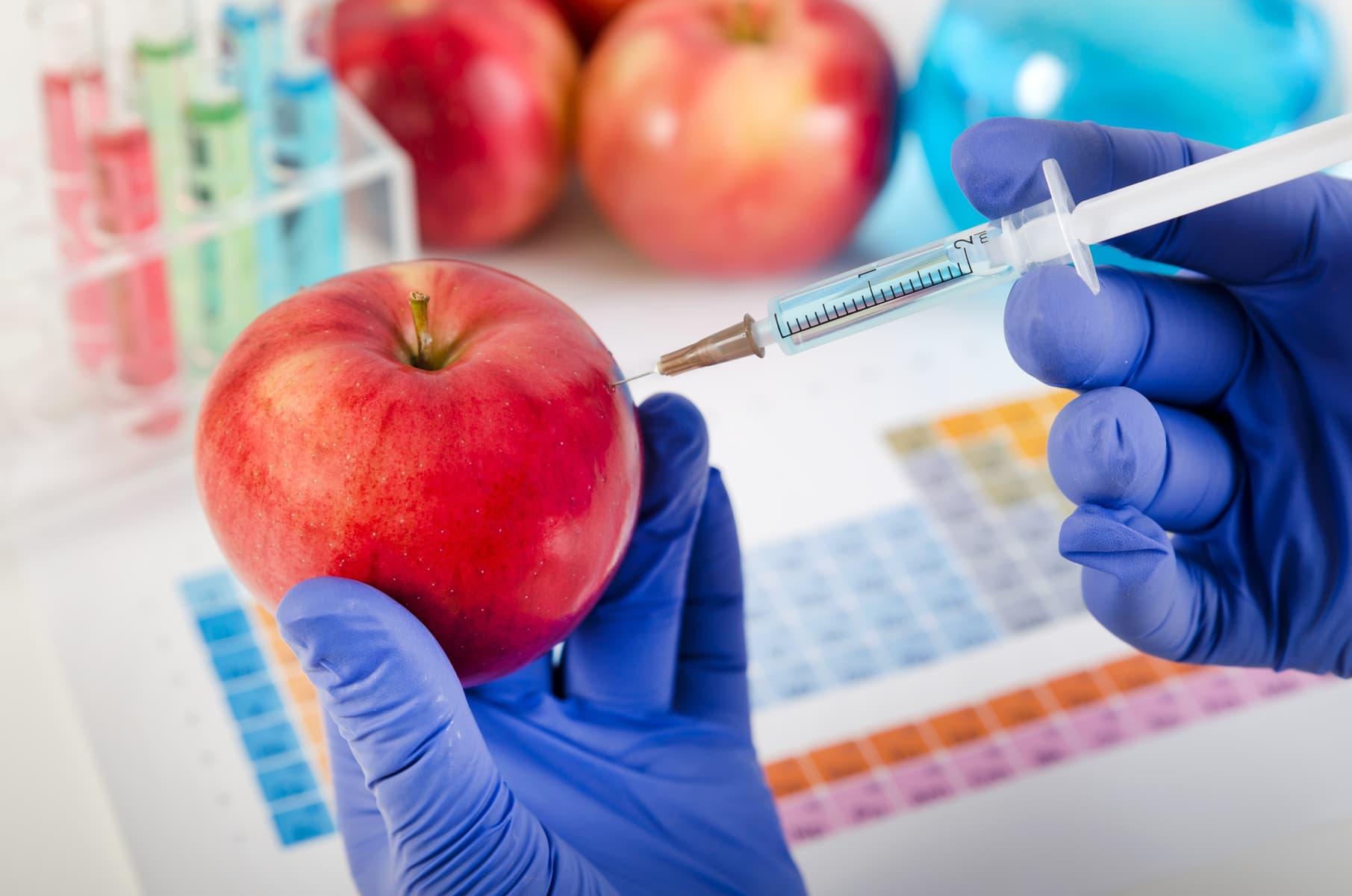 Генетически модифицированные продукты в картинках