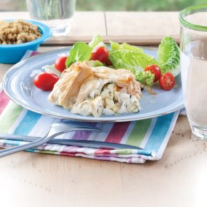 Fish filo parcels
