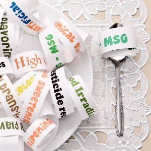 Food additives and common ingredients