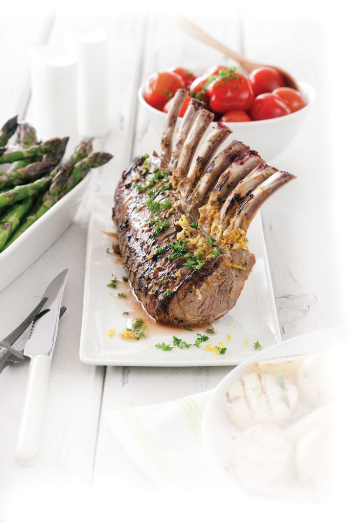 French-style rack of lamb