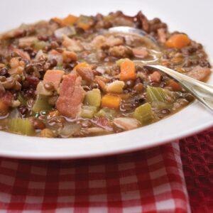 Friary lentil soup