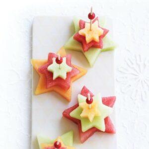 Fruit Christmas trees