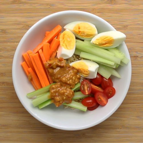 How to make: Gado gado