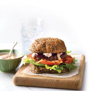 Gherkin burgers