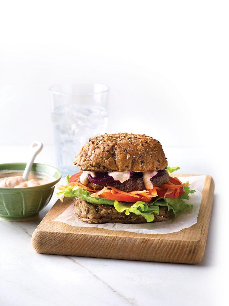Gherkin burger