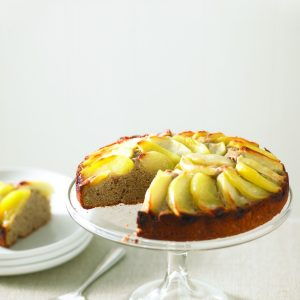 Gluten-free apple and cinnamon tea cake