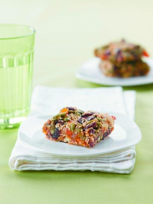 Gluten-free birdseed slice