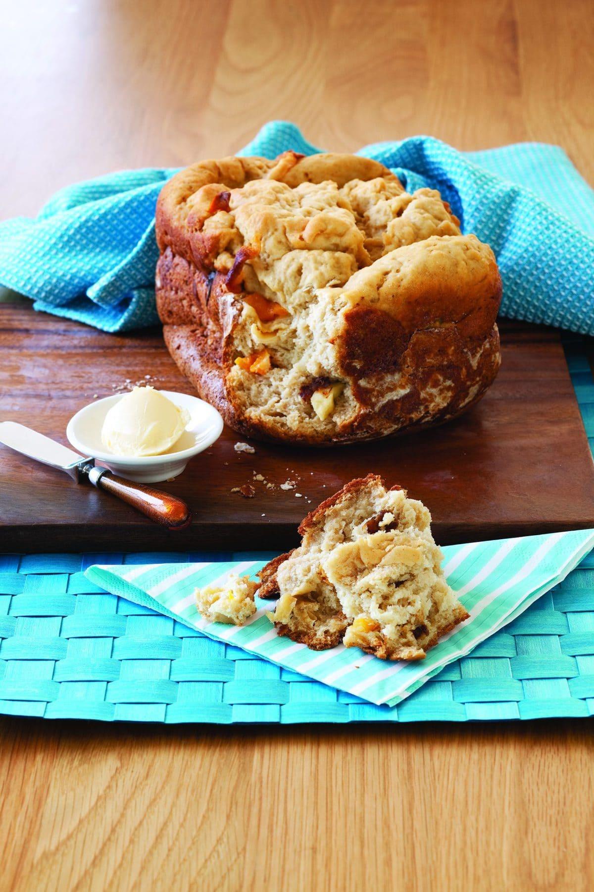 Gluten-free fruit bread