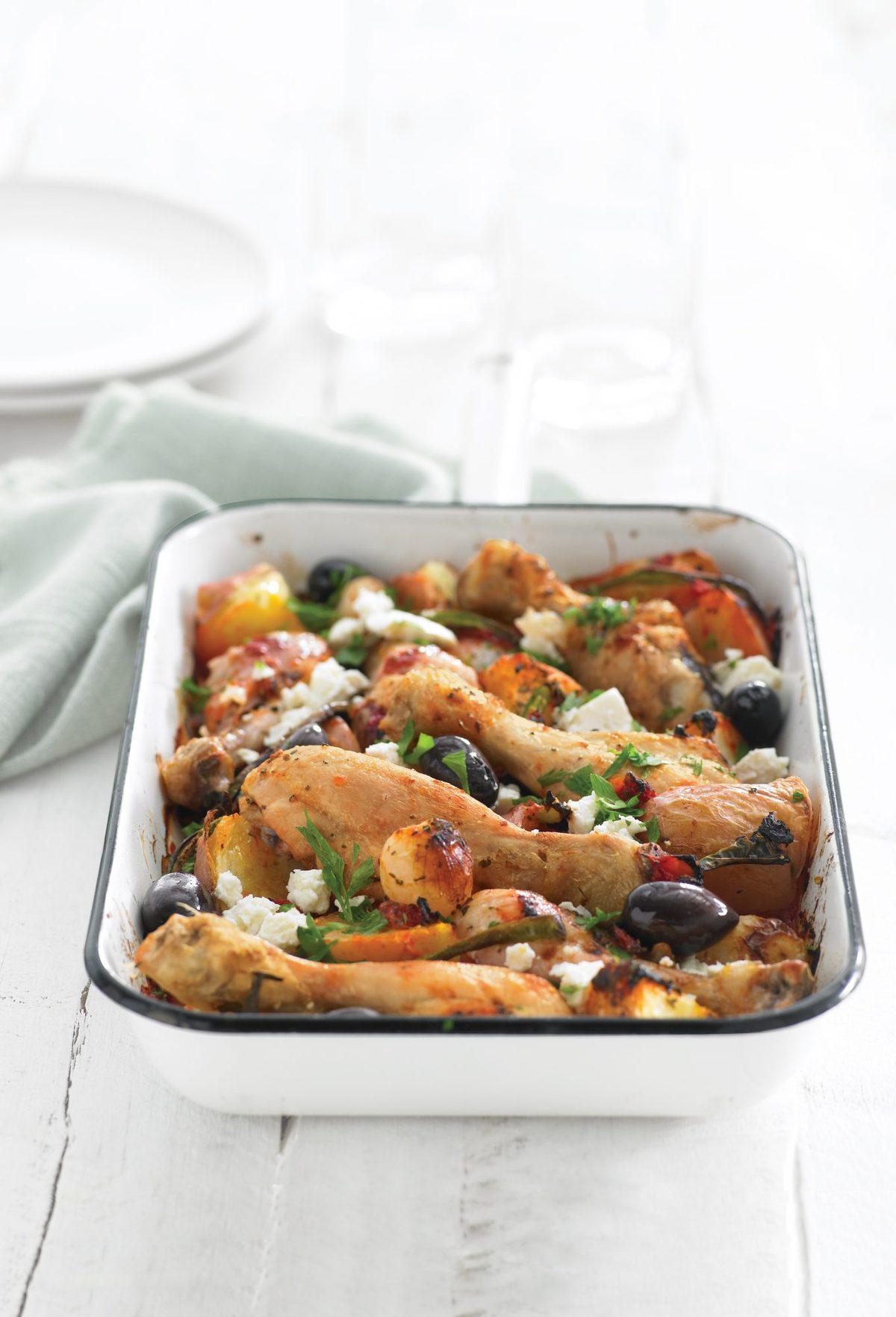 Greek chicken healthy food guide greek chicken forumfinder Gallery