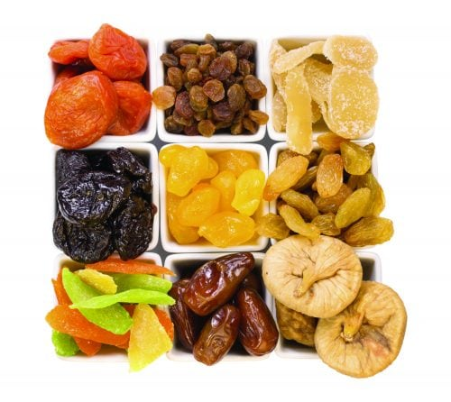 Guide to dried fruit