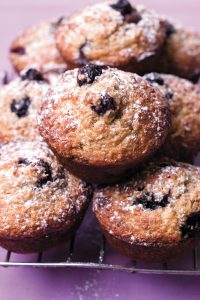 HFG blueberry muffins