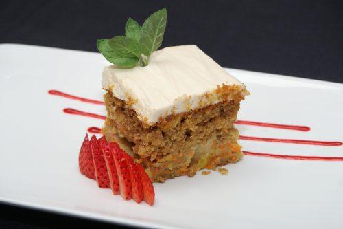HFG carrot cake